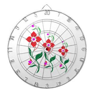 Cute Flower Pattern : All Season Creepers Dartboards