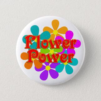 Cute Flower Power 2 Inch Round Button