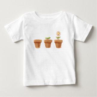 Cute Flowerpot Baby T-Shirt