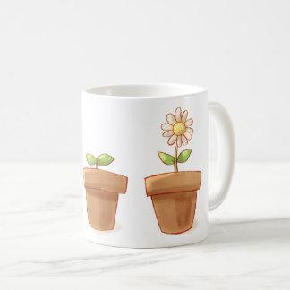 Cute Flowerpot Coffee Mug