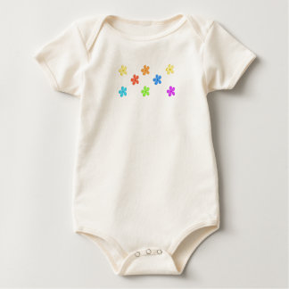 Cute Flowers Baby Bodysuit