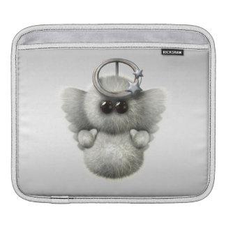 Cute Fluffy Angel Sleeve For iPads