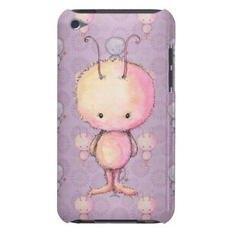 Cute Fluffy Fuzzy Monsters iPod Case-Mate Cases