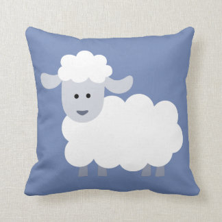 Cute Fluffy Lamb Decorative Throw Pillow