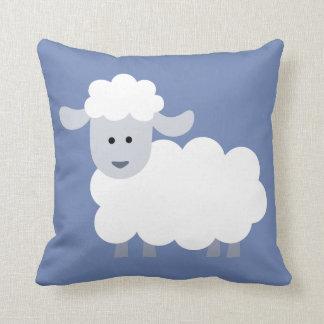 Cute Fluffy Lamb Decorative Throw Pillow