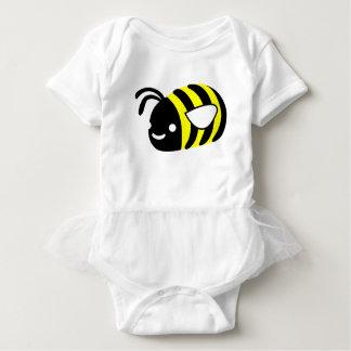 Cute flying bumblebee baby bodysuit