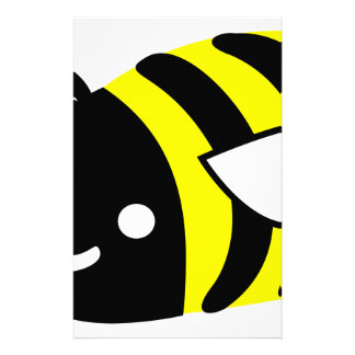 Cute flying bumblebee customized stationery