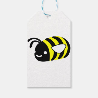 Cute flying bumblebee pack of gift tags