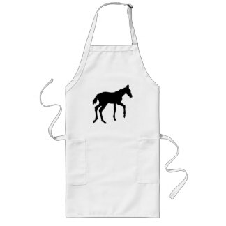 Cute foal horse aprons