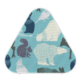 Cute Forest Animals Pattern Blueooth Speaker