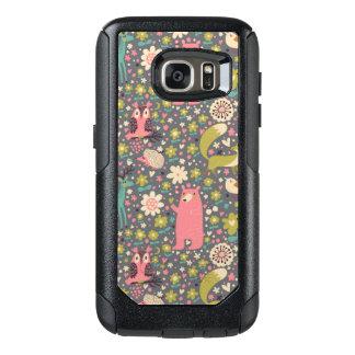 Cute Forest Animals Pattern OtterBox Samsung Galaxy S7 Case