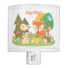 Cute Forest Woodland Animal Kids Room Decor Nite Lights