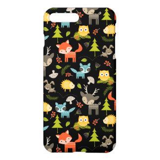 Cute Forrest Creatures iPhone Case