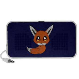 cute fox iPod speakers