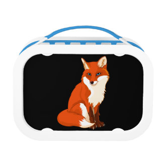 Cute Fox Sitting Lunch Box