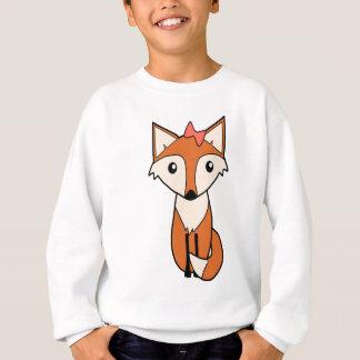 Cute Fox Wearing a Hair Bow Sweatshirt