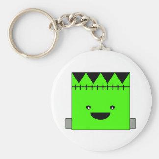 Cute Frankenstein Basic Round Button Keychain