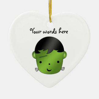 Cute Frankenstein monster Ceramic Ornament