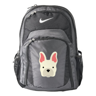 Cute French Bulldog. Backpack