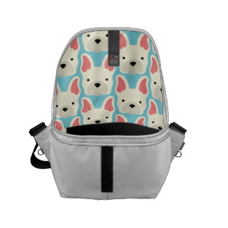 Cute French Bulldog. Messenger Bags