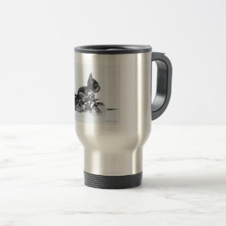 Cute French Bulldog Mug for travellers