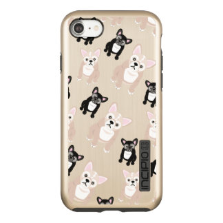 Cute French Bulldog Puppies Incipio DualPro Shine iPhone 8/7 Case