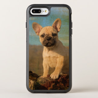 Cute French Bulldog Puppy Vintage Photo Protection OtterBox Symmetry iPhone 7 Plus Case
