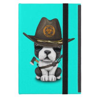 Cute French Bulldog Puppy Zombie Hunter Case For iPad Mini