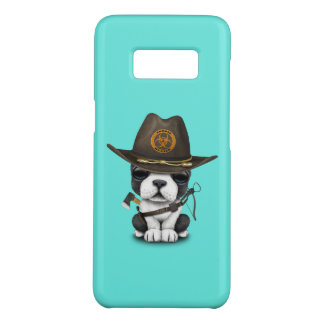 Cute French Bulldog Puppy Zombie Hunter Case-Mate Samsung Galaxy S8 Case