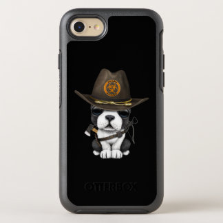 Cute French Bulldog Puppy Zombie Hunter OtterBox Symmetry iPhone 8/7 Case