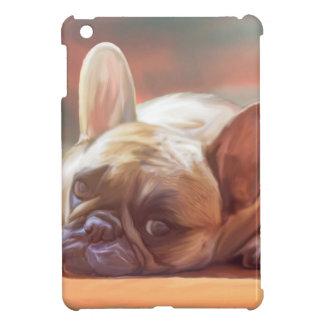 Cute French Bulldog Water Color Art Painting iPad Mini Case