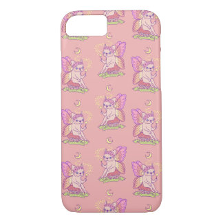Cute Frenchie fairy is casting a magical spell Case-Mate iPhone Case