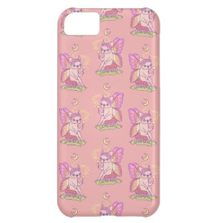 Cute Frenchie fairy is casting a magical spell Cover For iPhone 5C