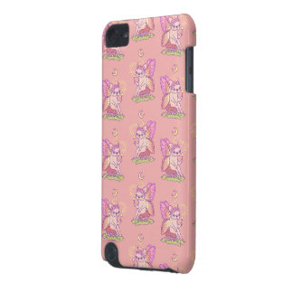 Cute Frenchie fairy is casting a magical spell iPod Touch 5G Covers