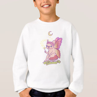 Cute Frenchie fairy is casting a magical spell Sweatshirt