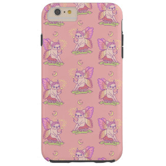 Cute Frenchie fairy is casting a magical spell Tough iPhone 6 Plus Case