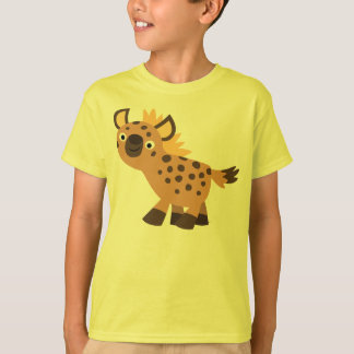 Cute Friendly Cartoon Hyena Children T-Shirt