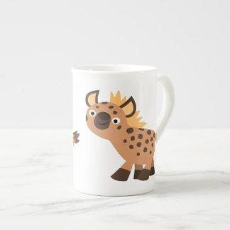 Cute Friendly Cartoon Hyena Tea Cup