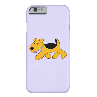Cute Frisky Terrier Barely There iPhone 6/6s Case