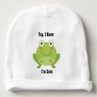 Cute Frog Baby Beanie