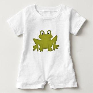 Cute Frog Baby Romper