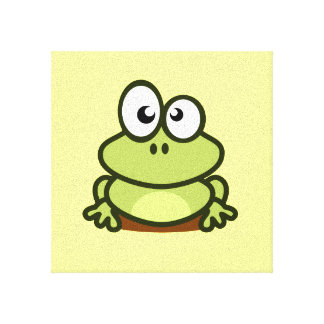 Cute Frog Canvas Print