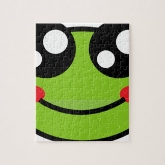 Cute Frog Jigsaw Puzzle