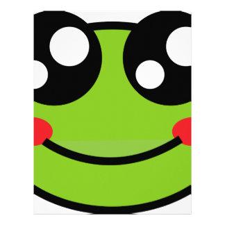 Cute Frog Letterhead