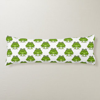 Cute Frog Pattern Body Pillow