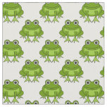 Cute Frog Pattern Fabric