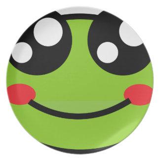 Cute Frog Plate