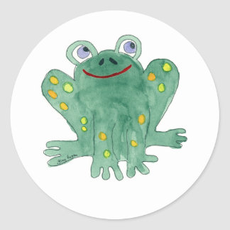 Cute Frog Sticker