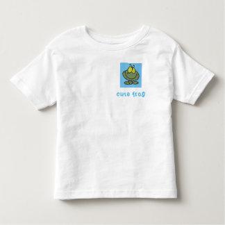 cute frog toddler t-shirt