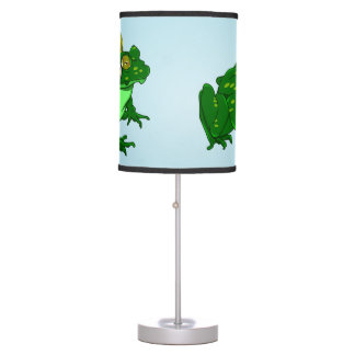 Cute Frog Wearing Headphone Desk Lamp